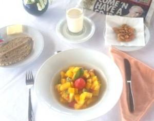 Desayunos saludables en Chiringuito Rivera - Hotel Yaramar Fuengirola