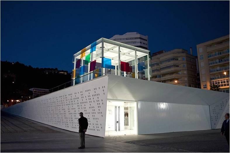 Museo Pompidou.Museo Pompidou Malaga Pompidou Malaga Museum Hotel Yaramar
