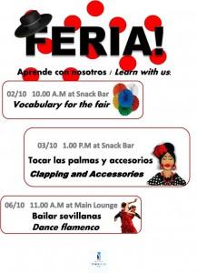 Talleres de Feria 2014 - Hotel Yaramar Fuengirola