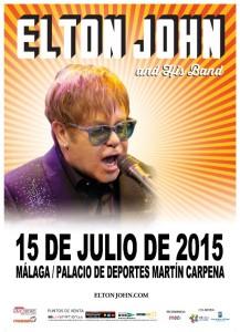 Concierto de Elton John en Málaga - Hotel Yaramar Fuengirola